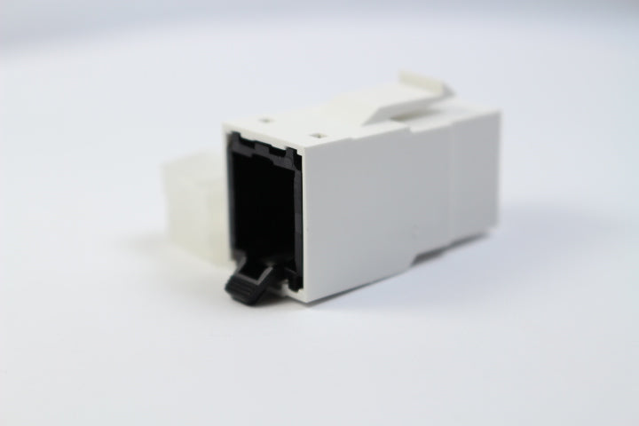 Belden RV6MJKUEW-B24 CAT6 RJ45 REVConnect/KeyConnect Jack Module, White, 24 Pack