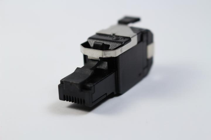 Belden RVAFPUBK-S1 CAT6A RJ45 REVConnect/KeyConnect 8 Position / 8 Conductor Modular Plug
