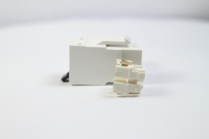 Belden RVAMJKUEW-S1 CAT6A RJ45 REVConnect/KeyConnect Jack Module, White