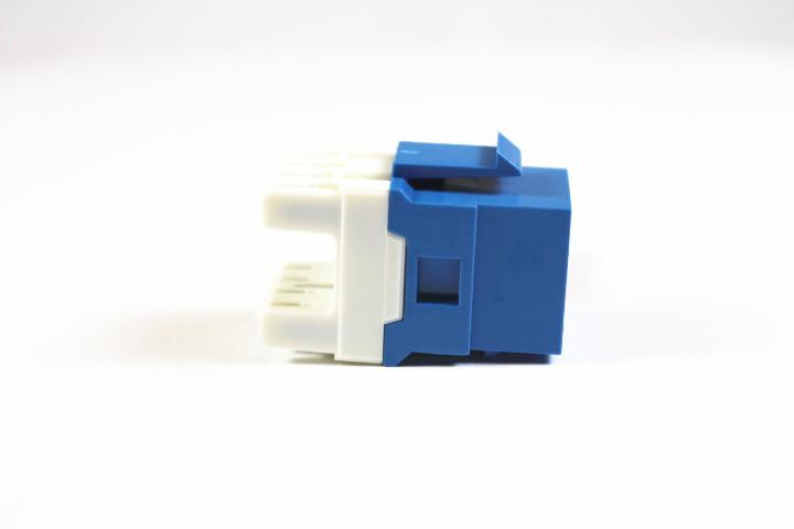 Belden AX104193-B24 CAT6 RJ45 KeyConnect Jack Module, Blue, 24 Pack