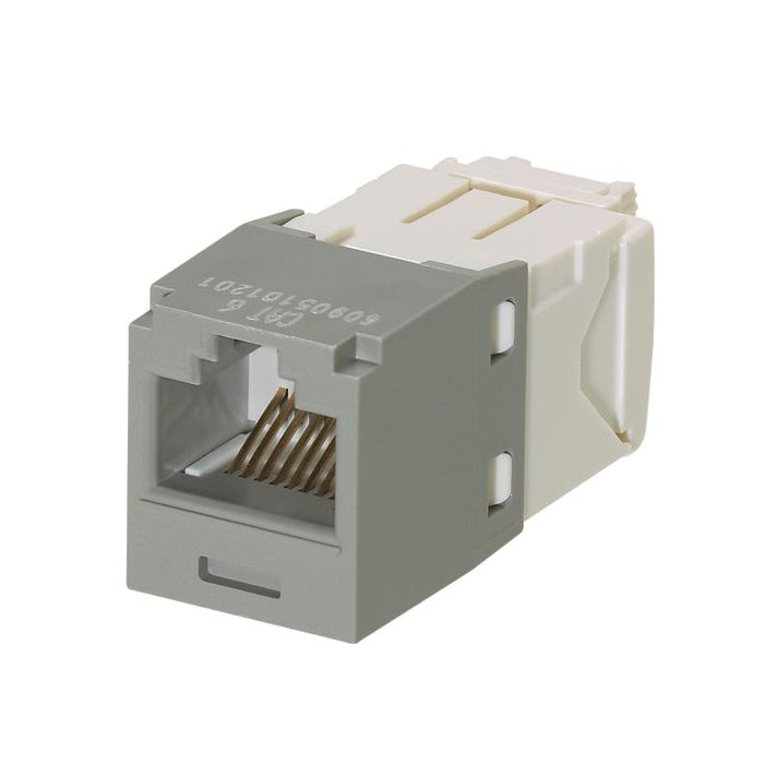 Panduit CJ688TGIG Mini-Com CAT6 Giga-TX6 Plus RJ45 Jack Module, Gray