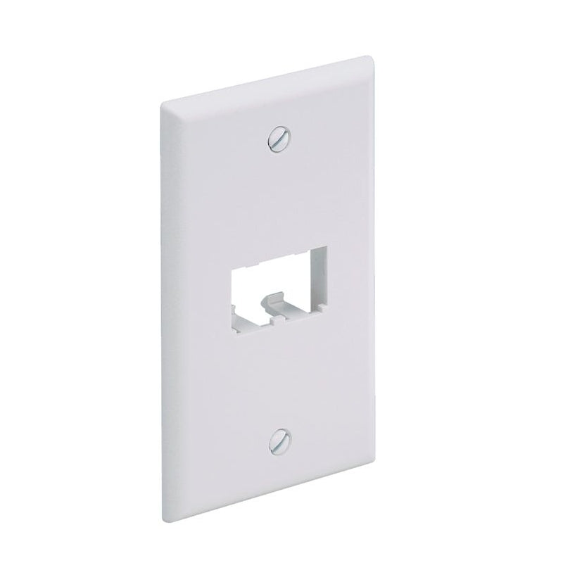 Panduit CFP2WH Mini-Com Classic 2 Port Faceplate, White
