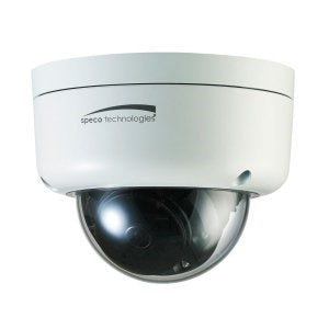 Speco O3FD8M 3MP FIT Vandal Dome IP Camera, 2.9-12mm motorized lens, white housing