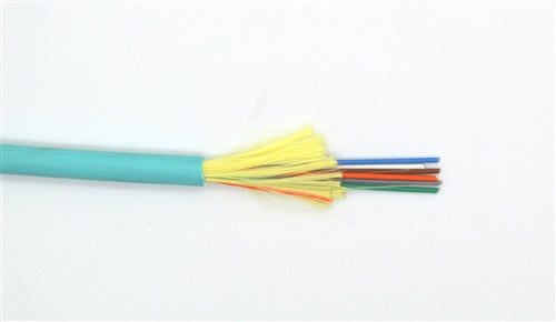OM4-6F-IODPL-AQ 6 Fiber Distribution Fiber Optic Cable, Multi-Mode OM4, Plenum, Indoor/Outdoor (Priced per foot)