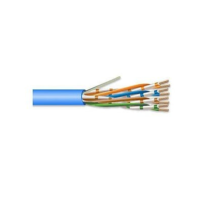 Superior Essex 51-240-25 Marathon LAN CAT5E Cable, 4 Pair, 1000 Ft, Blue