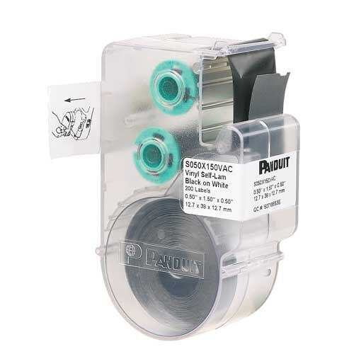 Panduit S100X150VAC LS8E Self-laminating Label Cartridge