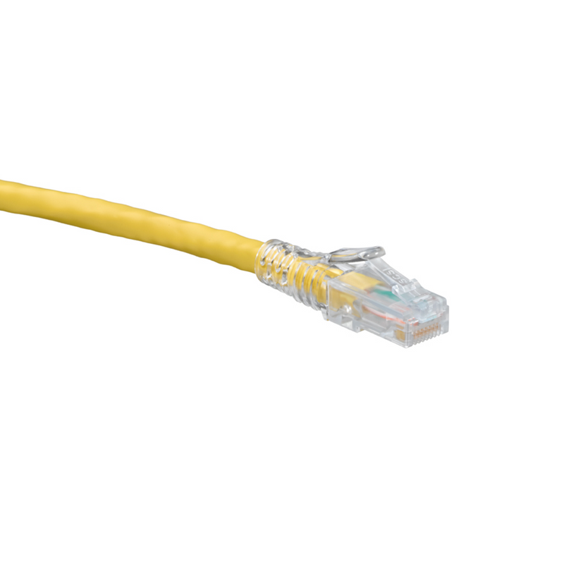 6D460-20Y Patch Cable, Leviton eXtreme, CAT6, 20 Ft, Yellow