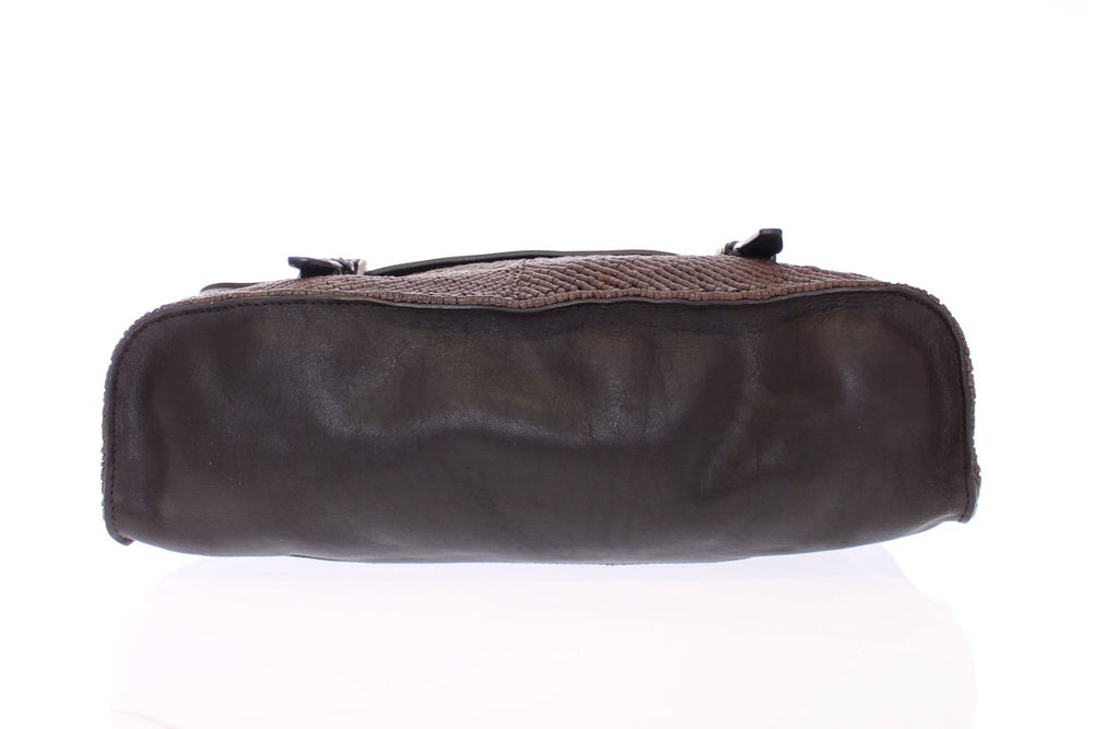 Load image into Gallery viewer, Brown leather messenger bag - Go for Brands