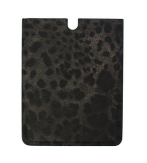 Load image into Gallery viewer, Leopard Leather iPAD Tablet eBook Cover Bag