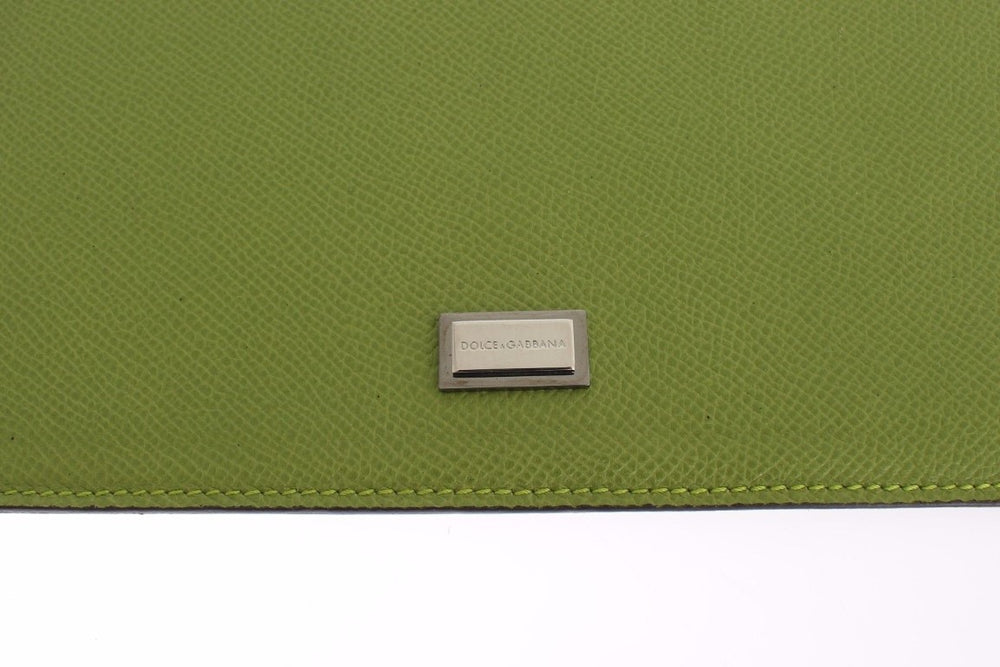Load image into Gallery viewer, Green Leather P2 Tablet eBook Cover Bag
