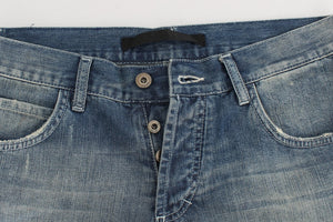 Load image into Gallery viewer, Blue Wash Cotton Regular Fit Jeans