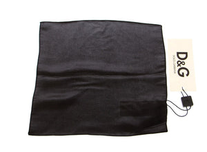 Load image into Gallery viewer, Black Silk Handkerchief - Go for Brands