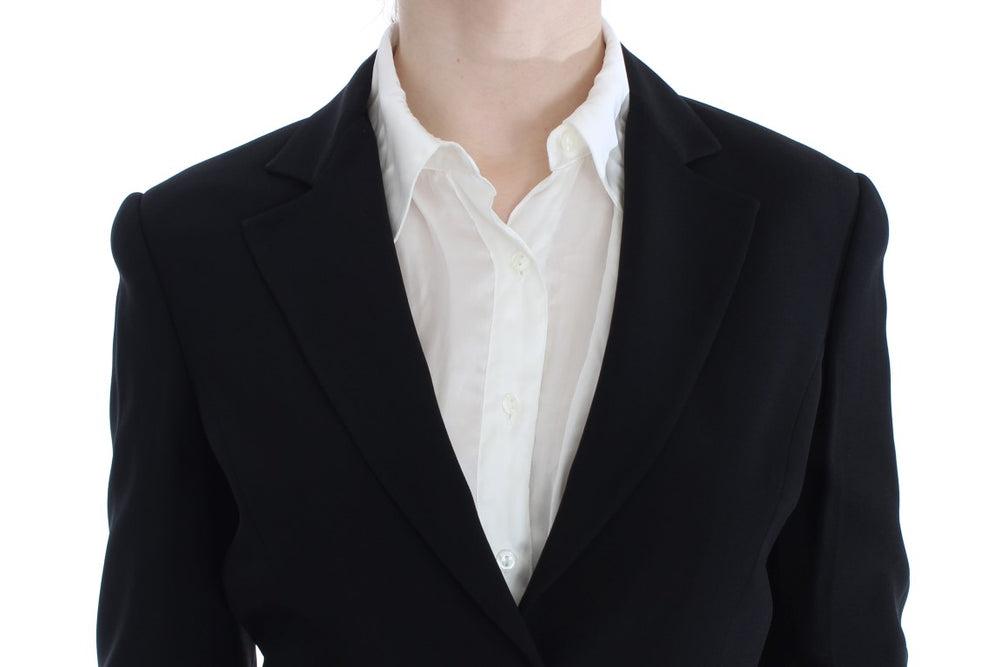 Load image into Gallery viewer, Black Two Button Suit
