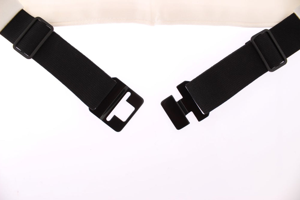 Load image into Gallery viewer, White Smoking Belt Silk Cummerbund - Go for Brands