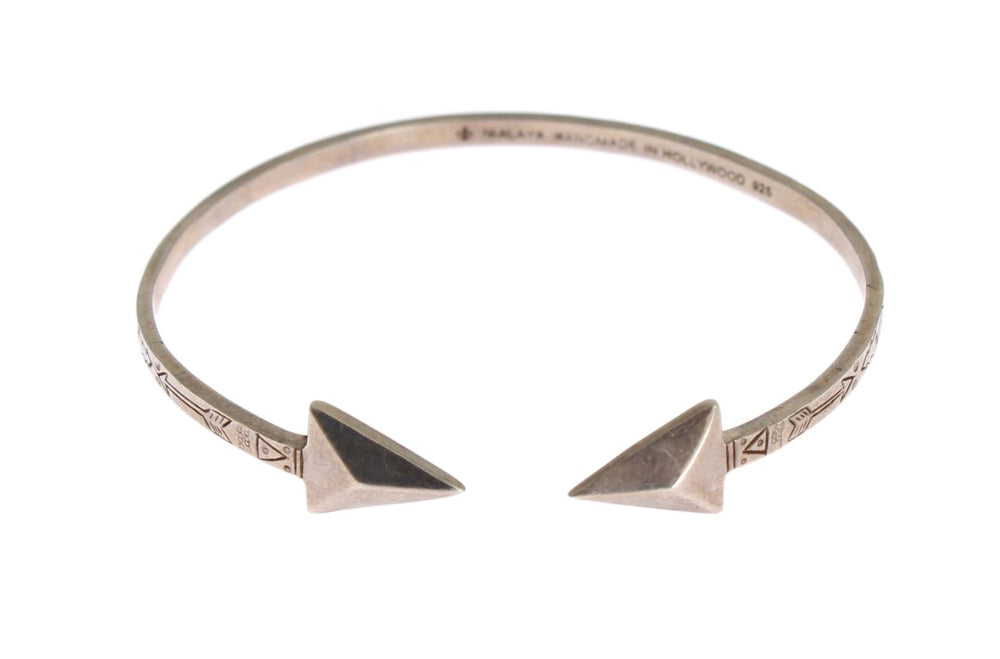 Arrow Cuff 925 Silver Bangle Bracelet