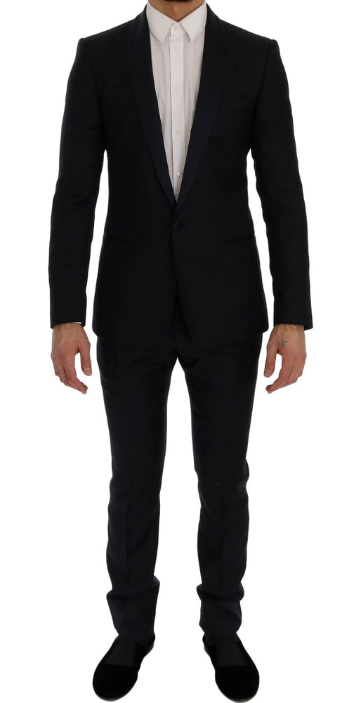 Load image into Gallery viewer, Blue Fantasy One Button MARTINI Slim Suit