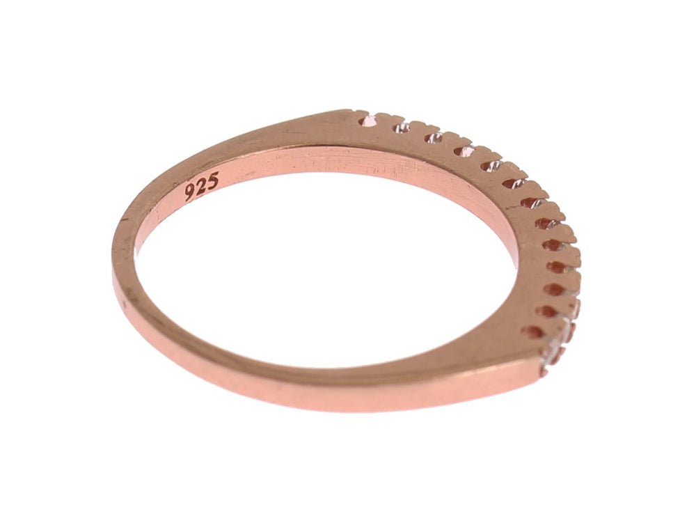 Load image into Gallery viewer, Red Gold 925 Silver Ring
