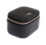 Black Leather Organizer Case Box - Go for Brands