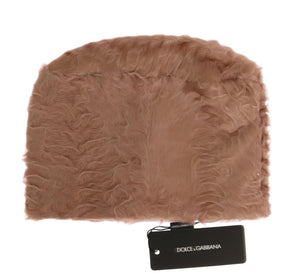 Load image into Gallery viewer, Beige Xiangao Lamb Fur Beanie