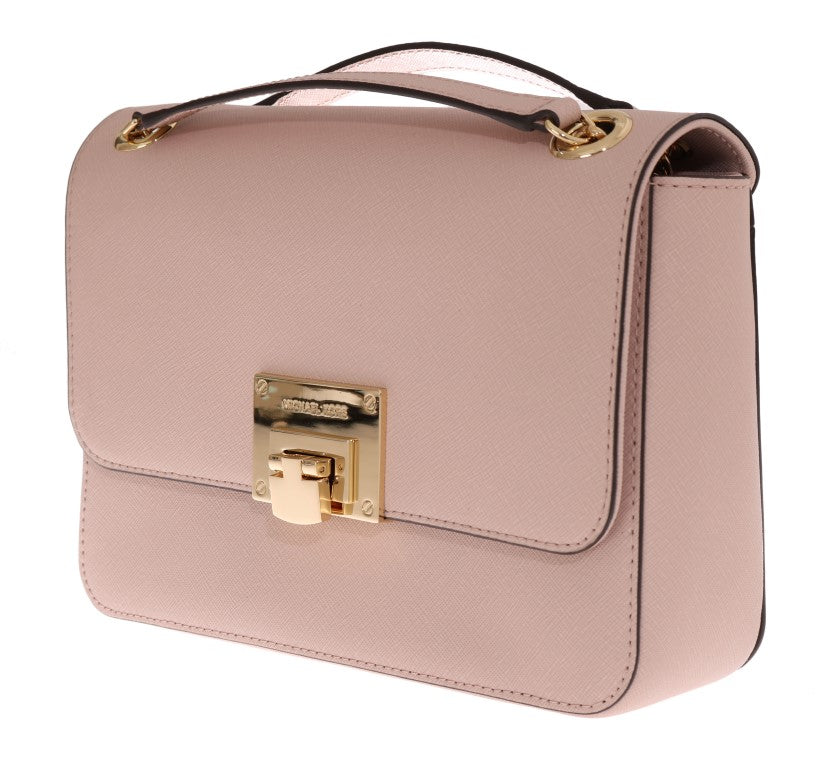 Load image into Gallery viewer, Pink TINA Leather Shoulder Bag