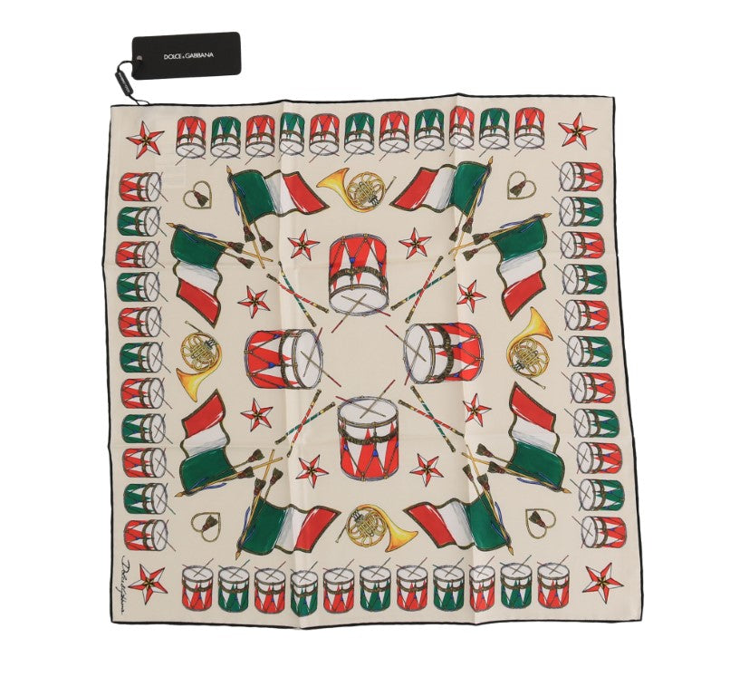 Load image into Gallery viewer, Silk Multicolor Italian Drum Scarf