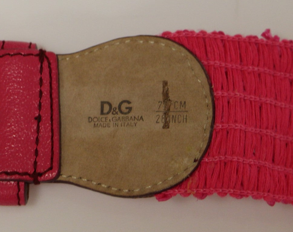 Load image into Gallery viewer, Purple Cotton Stretch Logo Belt