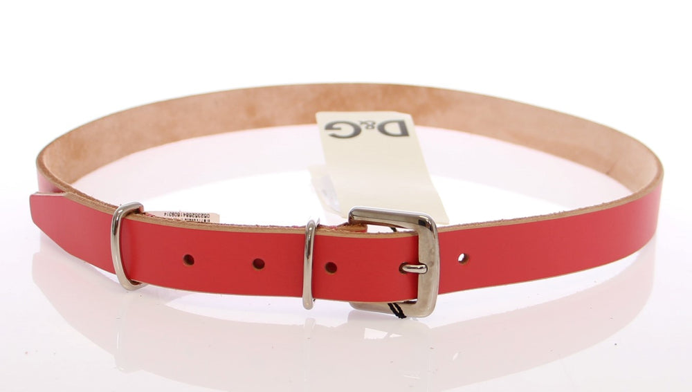 Load image into Gallery viewer, Pink Leather Logo Belt