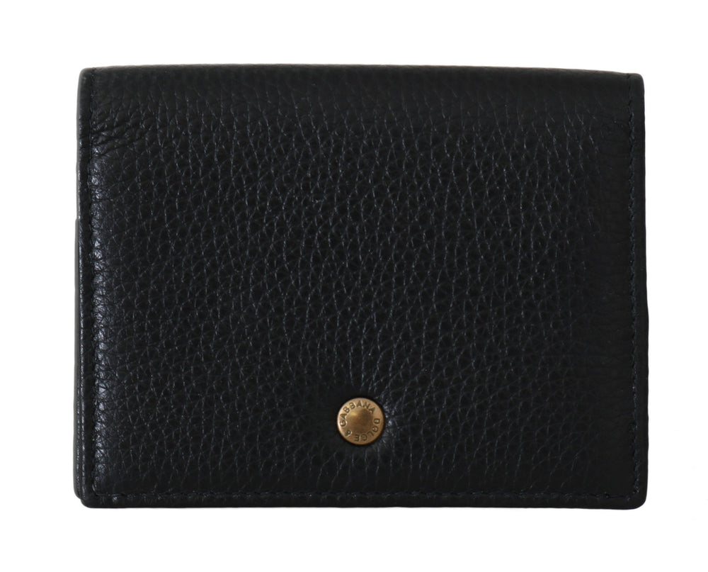 Black Leather ID Card Coin Holder Case Cover - Go for Brands