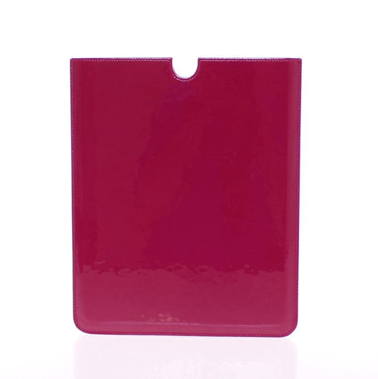 Load image into Gallery viewer, Red Leather iPAD Tablet eBook Cover