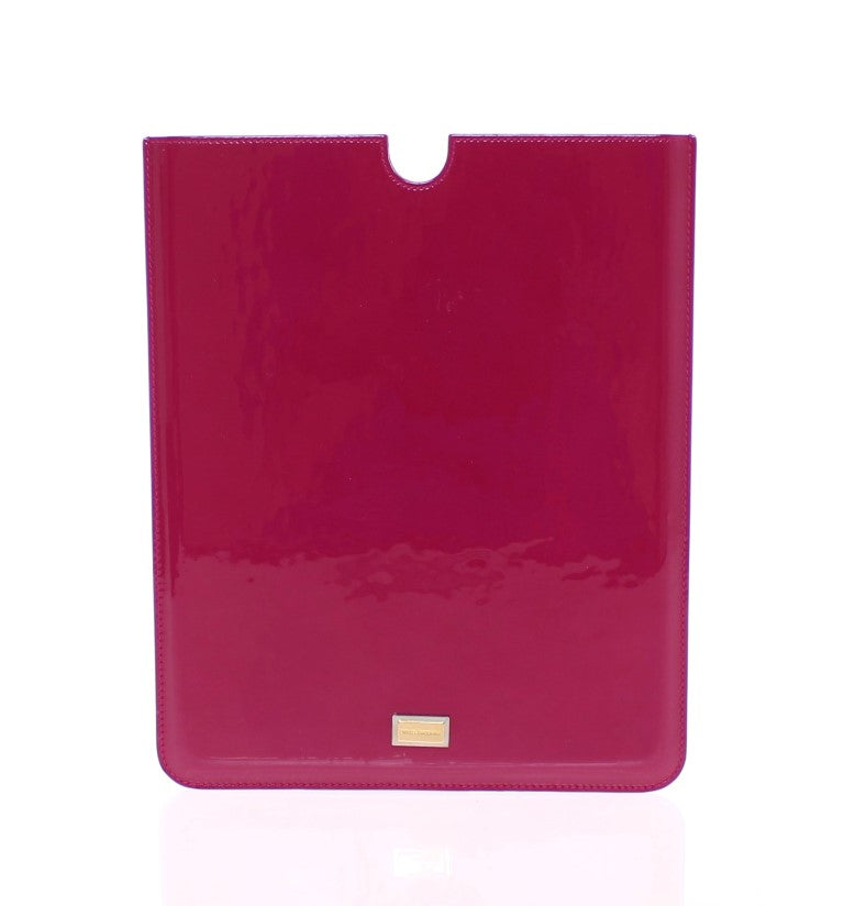 Red Leather iPAD Tablet eBook Cover