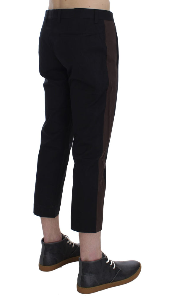 Load image into Gallery viewer, Brown Black 3/4 Length Pants
