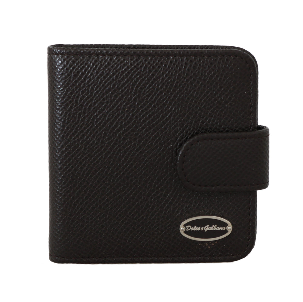 Brown Dauphine Leather Condom Case Holder - Go for Brands