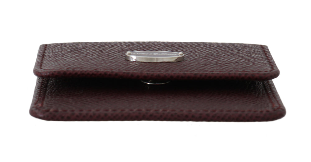 Load image into Gallery viewer, Bordeaux Dauphine Leather Condom Pocket Case - Go for Brands