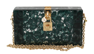 Load image into Gallery viewer, Green Taormina Lace Clutch Borse Bag Purse