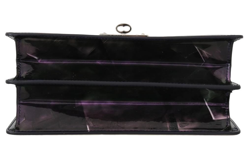 Load image into Gallery viewer, Purple Patent Leather Hand Shoulder Satchel Purse