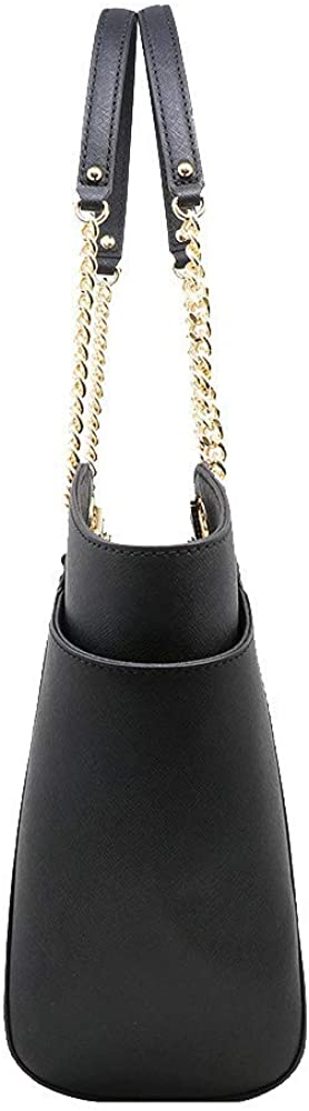 Load image into Gallery viewer, Michael Kors Jet Set Travel Large Chain Shoulder Tote