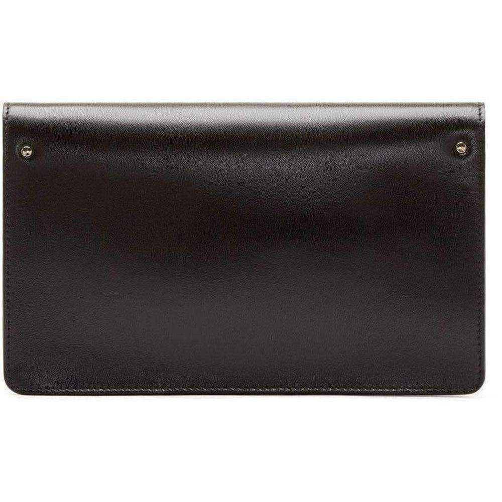 Load image into Gallery viewer, Gabrielle Black Leather Clutch