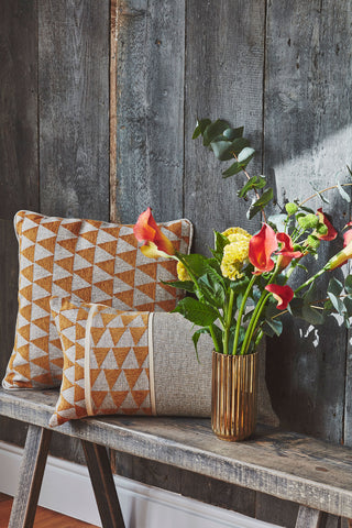 Cushions and Flowers