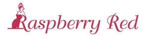raspberry red logo