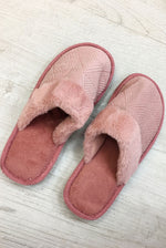 Load image into Gallery viewer, Pink Aztec Mule Slipper