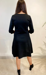 Load image into Gallery viewer, Sunday Black Dress