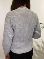 Load image into Gallery viewer, Cable Knit Wrap Cardigan