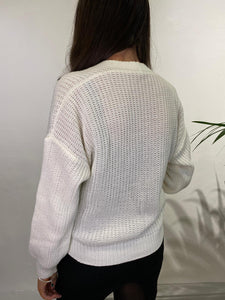 Cable Knit Wrap Cardigan