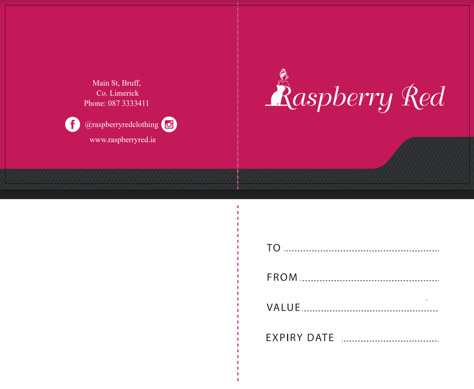 Raspberry Red Gift Card