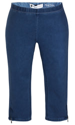 Load image into Gallery viewer, Zhenzi Twist Pants - Denim