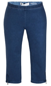 Zhenzi Twist Pants - Denim
