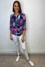 Load image into Gallery viewer, Evelyn Multi Coloured Blouse