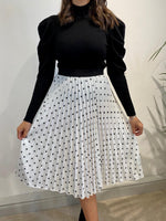 Load image into Gallery viewer, Polka Dot Skirt