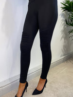 Load image into Gallery viewer, Pippa Cotton Biker Leggings