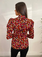 Load image into Gallery viewer, Rosalie Puff Shoulder Long Sleeve Top